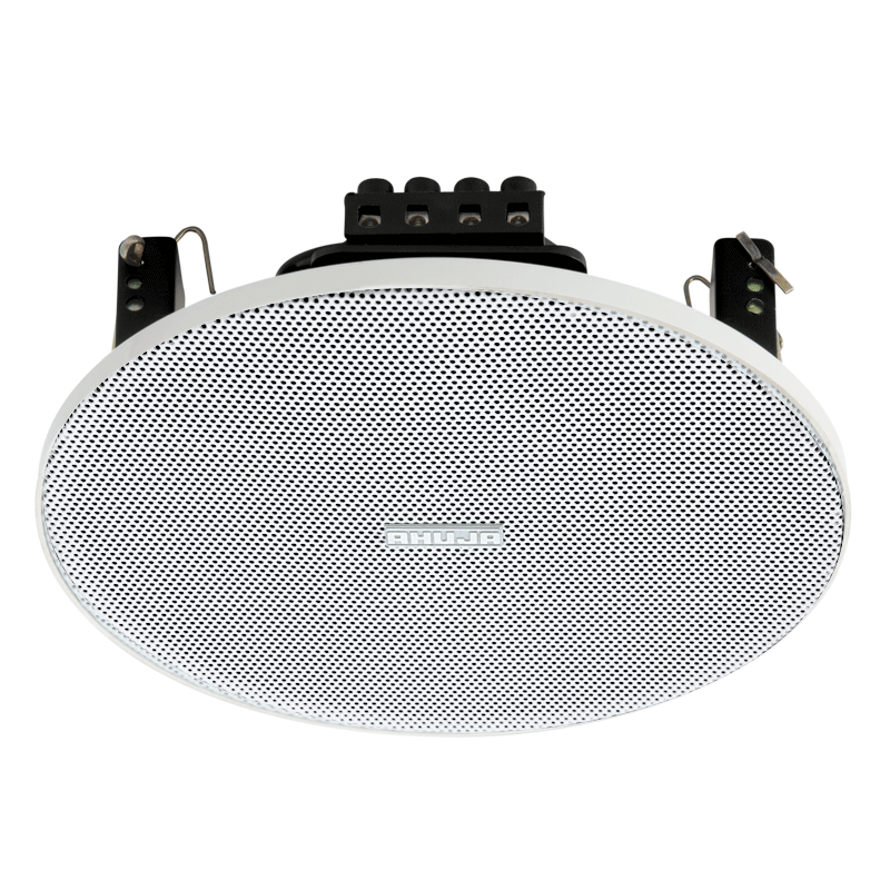 LOW PROFILE RIMLESS CEILING SPEAKER WITH POWER TAPS OF 8/4/2W IDEAL FOR OFFICES,RESTAURANTS,HOTEL,HOSPITAL - CSX5081T