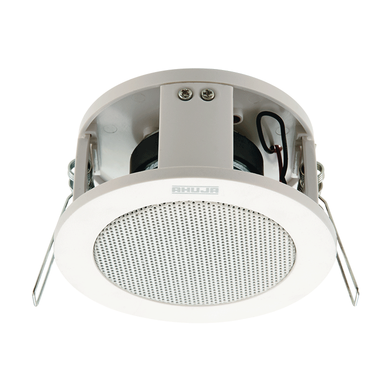 COMPACT CEILING SPEAKER MOULDED ABS PLASTIC FRAME - CS3061T