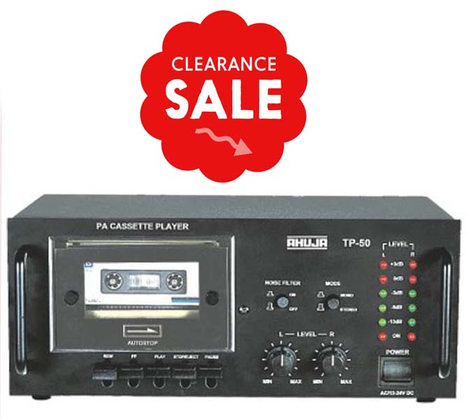CASSETTE PLAYER STEREO PRE AMPLIFIER TP50