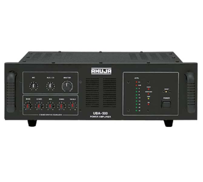 INSTALLATION PA AMPLIFIERS - UBA500