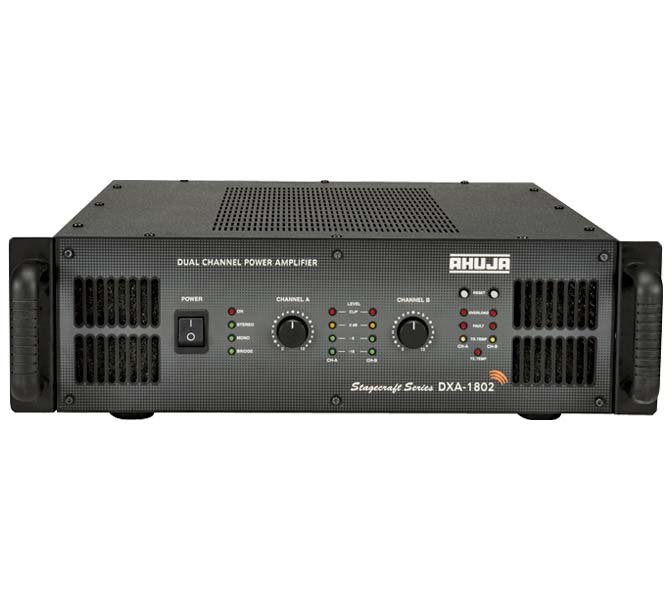 DUAL CHANNEL POWER AMPLIFIER - DXA1802