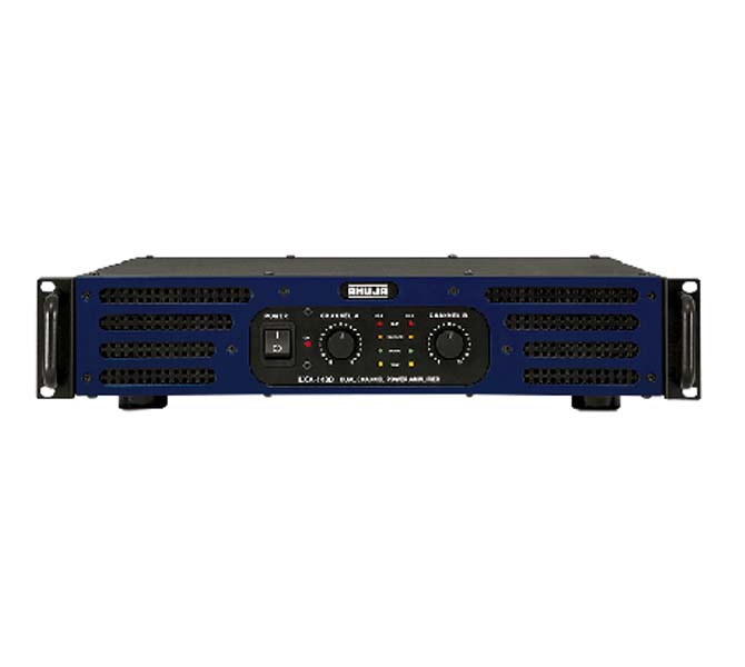 DUAL CHANNEL POWER AMPLIFIERS AC OPERATION 1500W - LXA-1400