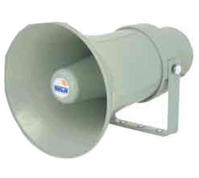 WEATHER PROOF 15W PA HORN SPEAKER WITH POWER TAPS OF 15/10/5/2.5W - UHC15XT