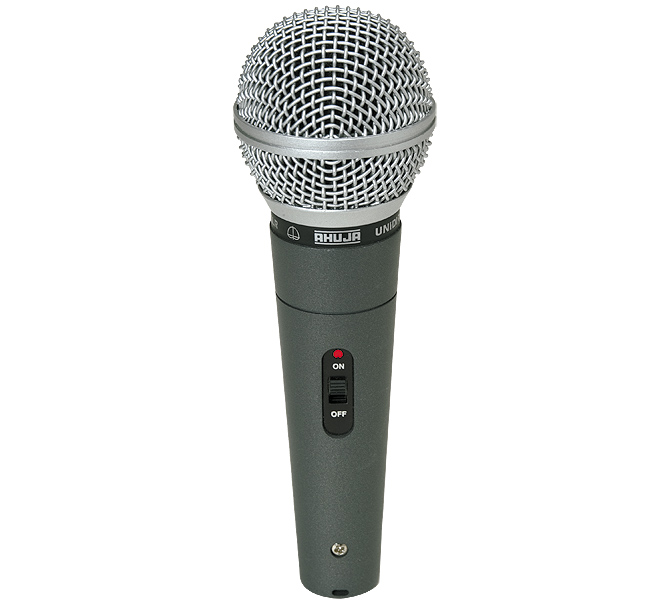 UNIDIRECTIONAL DYNAMIC SPEECH & VOCAL MICROPHONE IDEAL FOR CLOSE-TO-LIP SINGING - ASM580XLR