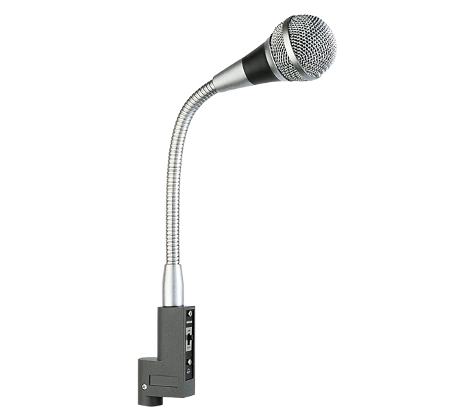 UNIDIRECTIONAL DYNAMIC MICROPHONE SUITABLE FOR LECTERNS & PODIUMS, OPEN CONFERENCES - AGN500