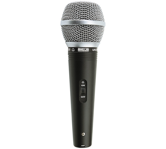 RUGGED & RELIABLE PA MICROPHONE IDEAL FOR AMATEUR ARTISTES ON STAGE,SPEECH & PAGING APPLICATIONS - AUD100XLR
