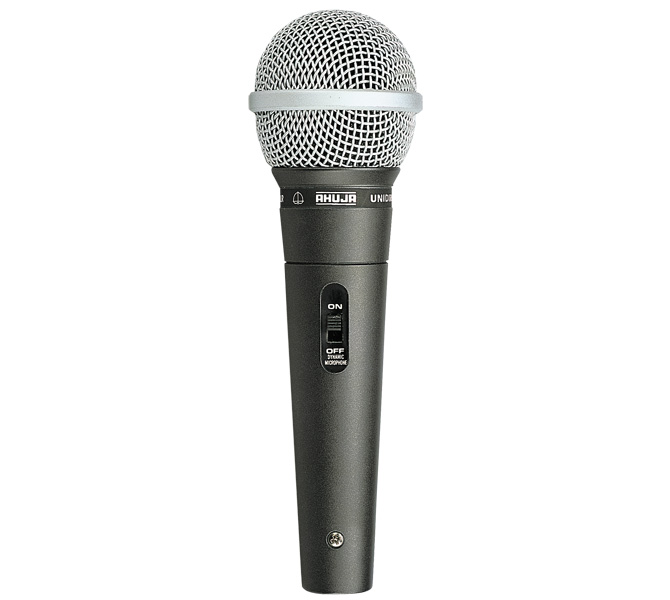 UNIDIRECTIONAL DYNAMIC PA APPLICATION MICROPHONE EXCELLENT INTELLIGIBILITY & WIDE FREQUENCY RESPONSE - AUD98XLR