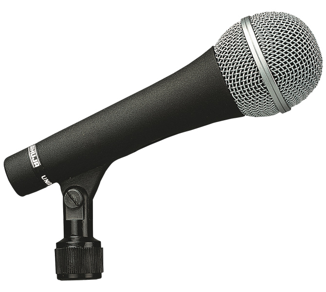 ROBUST & RELIABLE MICROPHONE WITH NON-REFLECTIVE FINISH IDEAL FOR PA APPLICATIONS LIKE SPEACH/PAGING - AUD70XLR
