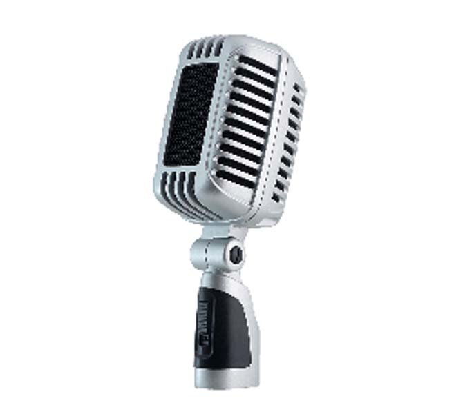 SUPERCARDIOID PROFESSIONAL PERFORMANCE MIC / LIVE STAGE PERFORMANCE MICROPHONE - PRO+7500DU