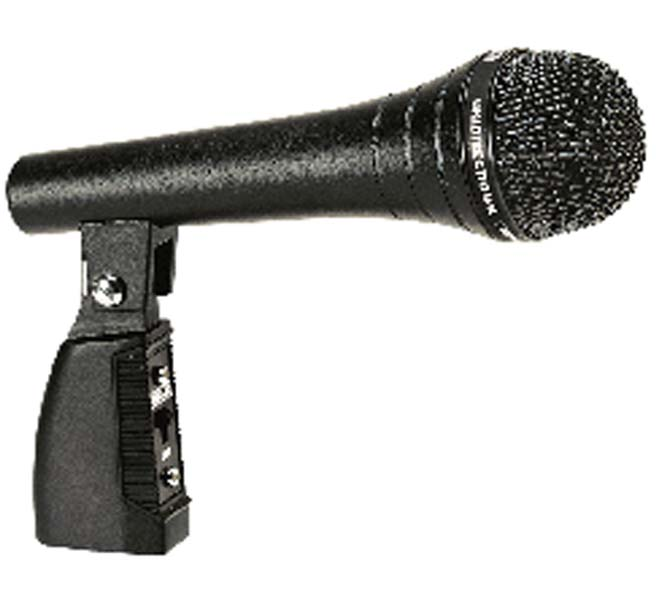 MICROPHONES - PA ECONOMY SERIES WITH MIC HOLDER UNIDIRECTIONAL DYNAMIC - AUD-99MS