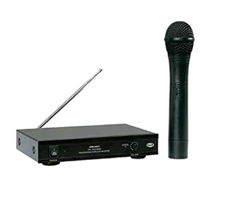 PROFESSIONAL UHF WIRELESS PA MICROPHONE - AWM-495V1
