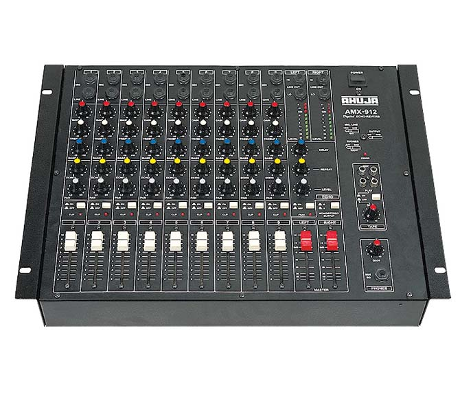 Audio Mixing Console - 9 Channel - AMX912