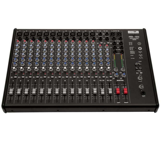 16 Channel PA Audio Mixing Consoles - PMX1632