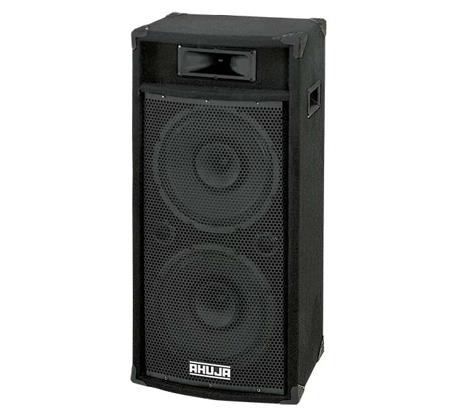 "COMPACT 200W 2-WAY SPEAKER SYSTEM COMBINES 2 NOS 12"" DUAL CONE SPEAKERS & PIEZO HORN - SRX250DX"