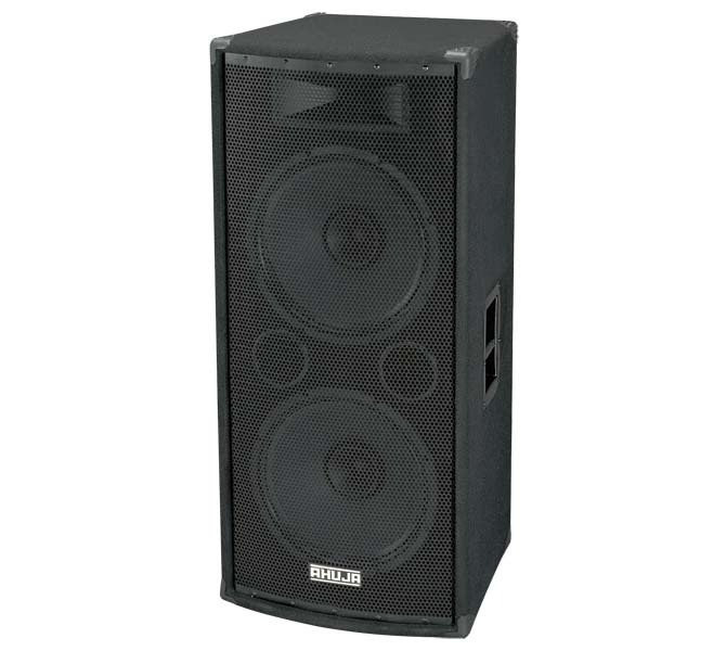 "PA PROFESSIONAL 400W 2-WAY SPEAKER SYSTEM CONSISTS OF TWO 15"" DUAL CONE SPEAKERS - SRX500"