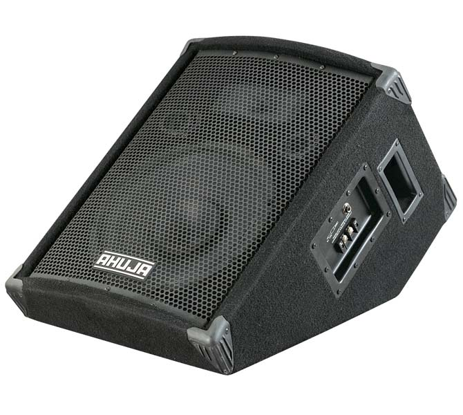 "COMPACT 2-WAY FLOOR MONITOR SPEAKER SYSTEM COMPRISING OF ONE 12"" DUEL CONE SPEAKER - SRM120"