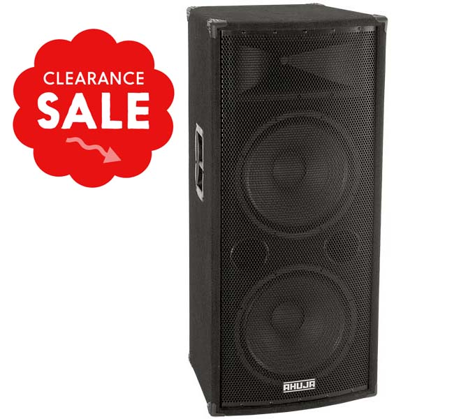 "PA PROFESSIONAL 700W 2-WAY SPEAKER SYSTEM CONSISTS OF TWO HIGH POWER 15"" - SPX800"
