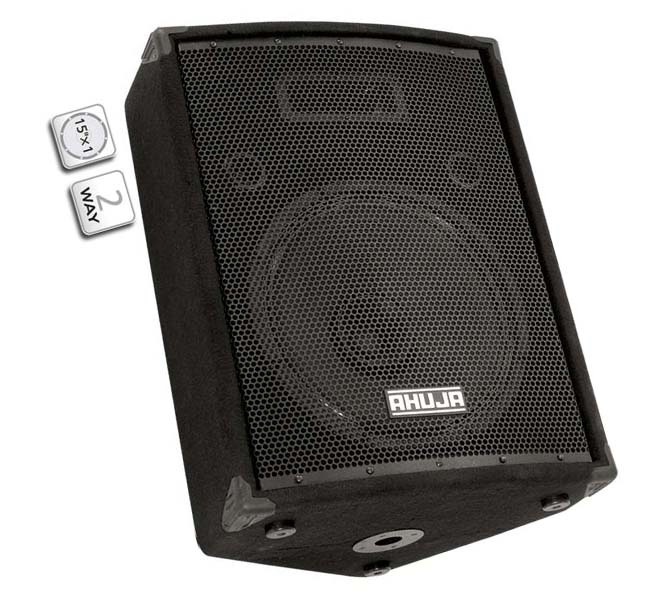 "COMPACT 2-WAY FLOOR MONITOR SPEAKER SYSTEM COMPRISING OF 1 NO 15"" DUEL CONE SPEAKER - SRM220"