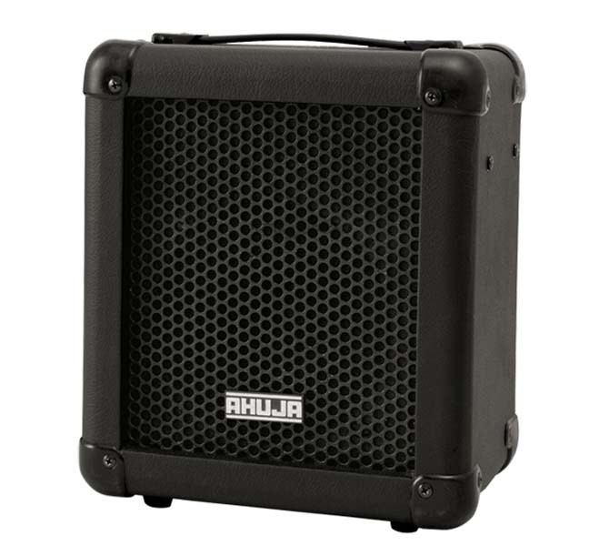 "PORTABLE 15W PA AMPLIFIER SYSTEM WITH A HANDLE CONSIST OF ONE 6.5"" DUEL CONE FULL RANGE SPEAKER - PSX300"