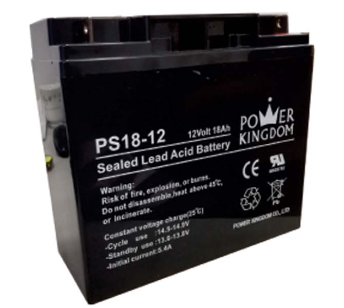 L.BATTERY PS18-12 12V18A RECHAR.POW.KIN.