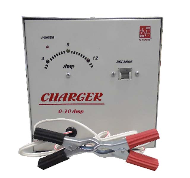AUTOMATIC CURRENT CONTROLLED POWER CHARGER - NCH-10A