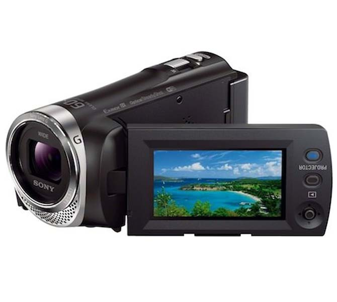SONY DIGITAL VIDEO CAMERA - HDRPJ-340E