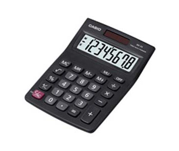 CASIO DESKTOP CALCULATOR 8 DIGITS - MX8S