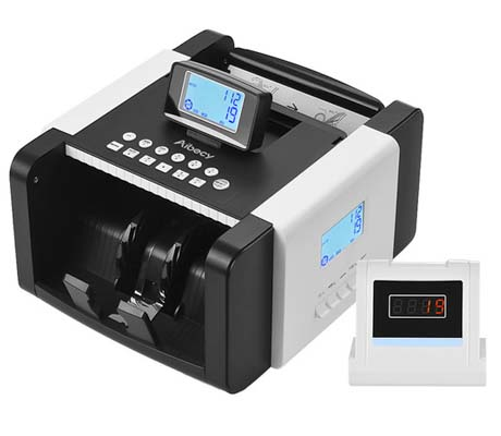 DUAL LCD BILL COUNTER UV / MG / MT/ IR / DD - DMS-1280T