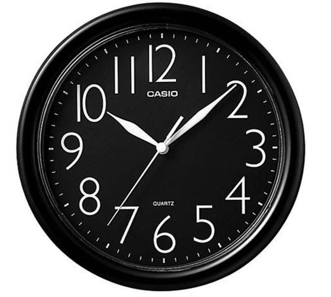 CASIO WALL CLOCK - IQ-01-1R/IQ-01S-1DF