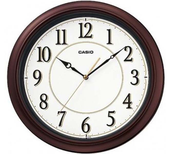 CASIO WALL CLOCK - IQ-60-5JF