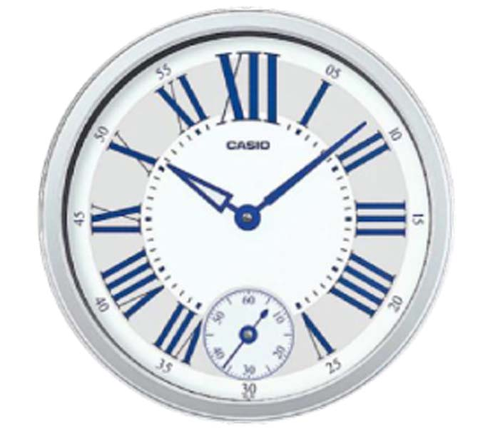 CASIO WALL CLOCK - IQ-70-8DF