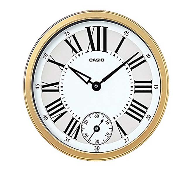 CASIO WALL CLOCK - ID-126-5DF
