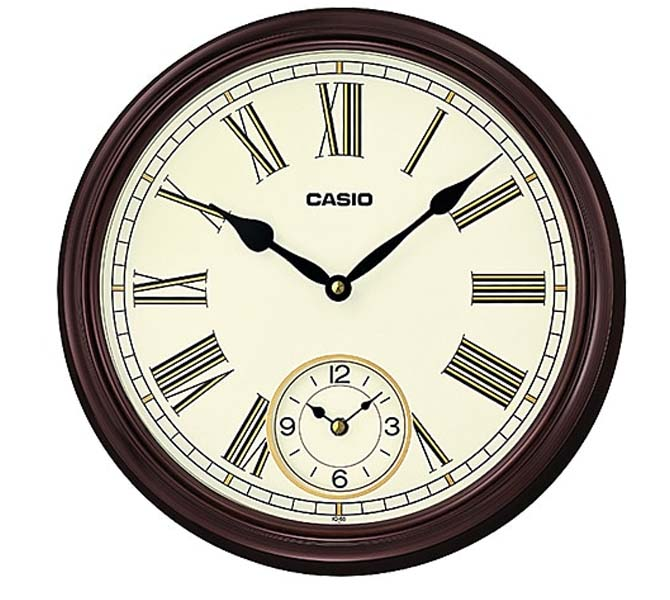 CASIO WALL CLOCK - IQ-59-1BDF