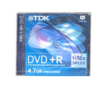 DVD+RW SINGLE SIDE 4/8.5GB