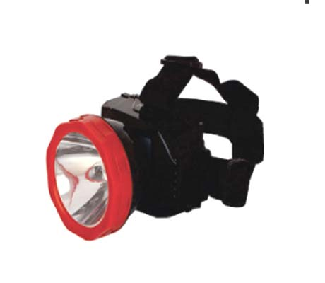 RE-CHARGEABLE 1W LED EMERGENCY HEADLAMP - WD-542