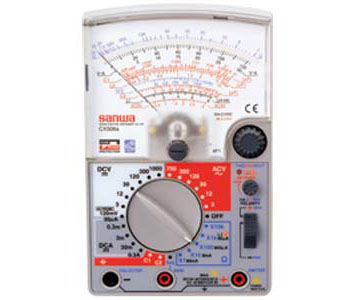 ANALOG MULTI TESTER MULTIFUNCTIONAL MODEL CAPACITOR & TRANSISTOR CHECKER - CX506A