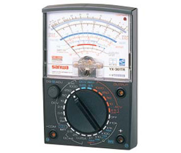 ANALOG MULTI TESTER WIDE MEASUREMENT RANGE - YX361TR