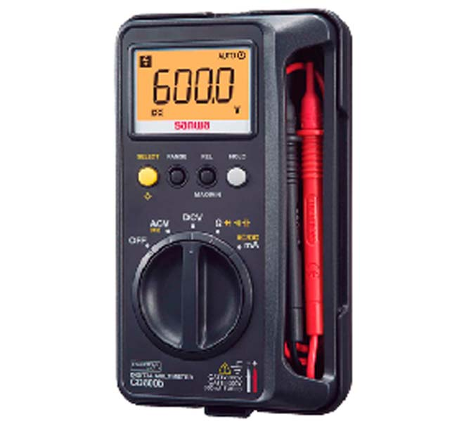 "DIGITAL MULTIMETERS ""SANWA"" MADE IN JAPAN - CD800B"