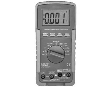 MULTIFUNCTIONAL HIGH INPUT IMPEDANCE 1000M Ω DIGITAL METER - RD700