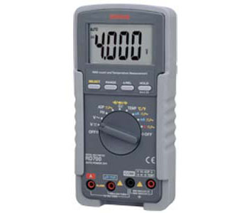 MULTIFUNCTIONAL HIGH INPUT IMPEDANCE DIGITAL METER - RD701