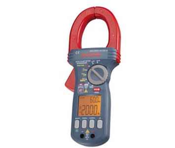 CLAMP METER DC/AC+TRUE RMS - CURRENT MEASURABLE MAX 2000A & DMM FUNCTIONS - DCM2000DR