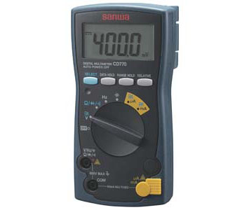 PC LINK SYSTEM STANDARD TYPE DIGITAL MULTIMETER - CD770