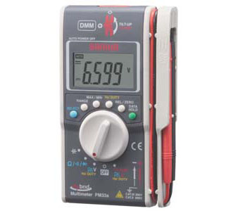 HYBRID POCKET SIZE DMM+CLAMP METER - PM33A