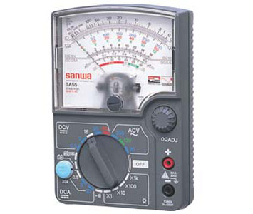 ANALOG MULTI TESTER DROP SHOCK PROOF METER 30A RANGE FOR AUTOMOTIVE - TA55