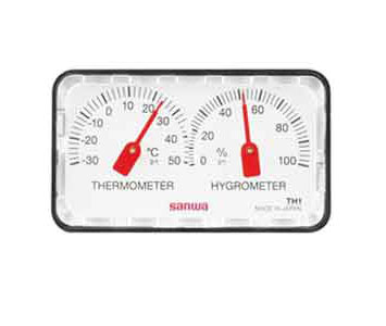 ANALOG TYPE THERMO & HYGROMETER - TH1