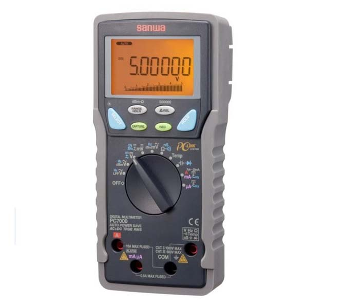 "DIGITAL MULTIMETERS ""SANWA"" MADE IN JAPAN - PC7000"