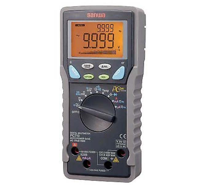 "DIGITAL MULTIMETERS ""SANWA"" MADE IN JAPAN - PC710S"