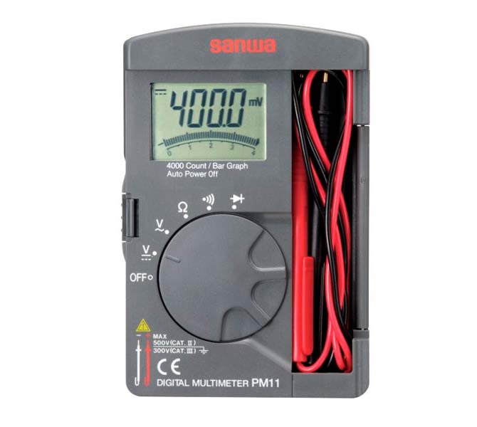 "DIGITAL MULTIMETERS ""SANWA"" MADE IN JAPAN - PM11S"