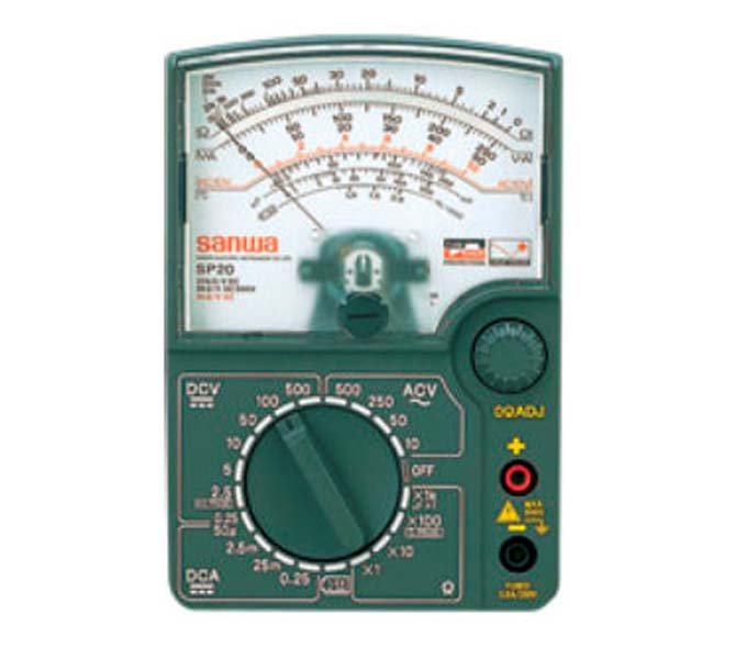 ANALOG MULTI TESTER DROP SHOCK PROOF METER - SP20S