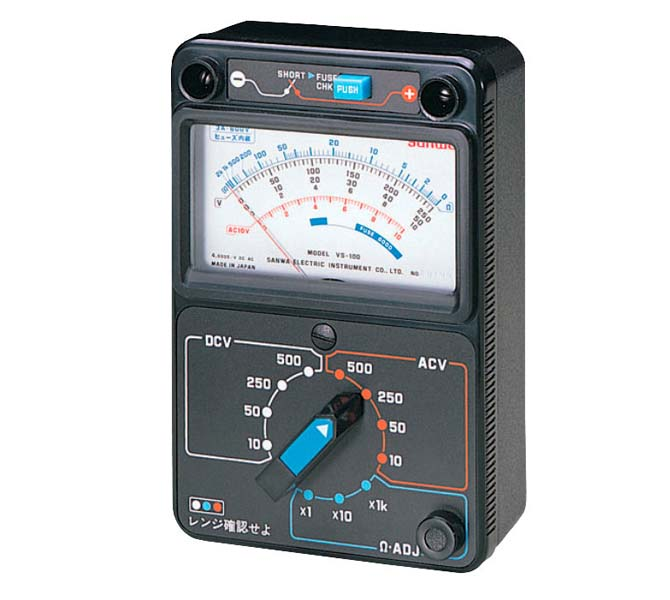 ANALOG MULTI TESTER PRIORITY TO SAFETY METER - VS100S